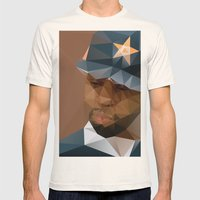J DILLA Mens Fitted Tee Natural SMALL