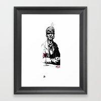 Bandido Bebedo Framed Art Print