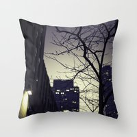 Morning  At 30 Rock Throw Pillow