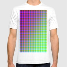 RGB SMALL White Mens Fitted Tee