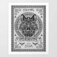 Legend Of Zelda Twilight… Art Print