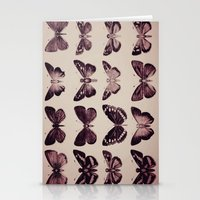 Vintage Butterflies Stationery Cards