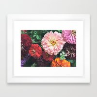 Buy Me Flowers Framed Art Print