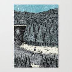 'Somewhere' (Colour) Canvas Print