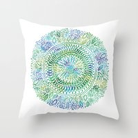Intricate Nature  Throw Pillow