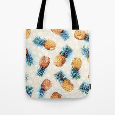 Pineapples + Crystals  Tote Bag