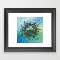 the planet shades Framed Art Print