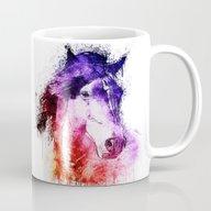 Watercolor Horse Mug
