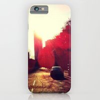 iPhone & iPod Case featuring A Long Road by Efua Boakye