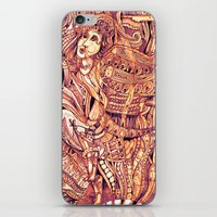 Pythia In A Frenzy iPhone & iPod Skin