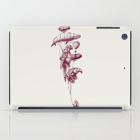 The Helium Menagerie (merlot)  iPad Case