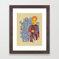 - Dazzle Teach - Framed Art Print