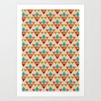 Retrospect, Triangle Nonet, No. 02 Art Print