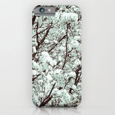 Winter Petals iPhone 6s Slim Case