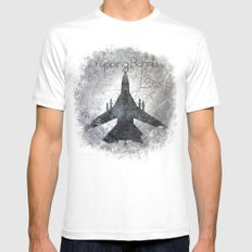Screaming Stars  Mens Fitted Tee SMALL White