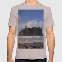 Sea Stacks Mens Fitted Tee Cinder SMALL