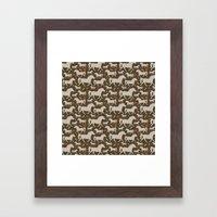 Ponies, Carrots, Pepperm… Framed Art Print