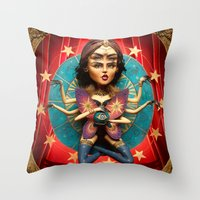 Madam Octavia  Throw Pillow