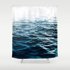Blue Sea Shower Curtain