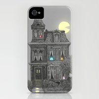 iPhone Cases featuring Haunted by the 80's by Terry Fan