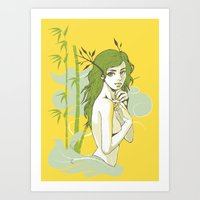 The Strong And The Beaut… Art Print