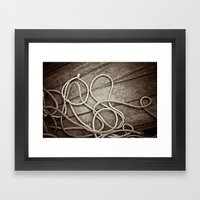 Ropes Framed Art Print