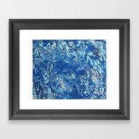 Arctic Sea Framed Art Print