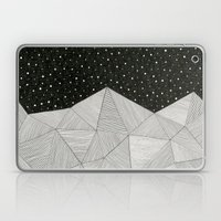 Stripe Mountains Laptop & iPad Skin