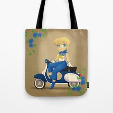 Retro Sailor Uranus Tote Bag