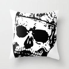 Rick Genest (Zombie Boy) Throw Pillow