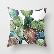 cactus new  Throw Pillow
