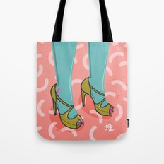 Montser legs trendy nails Tote Bag