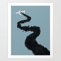 Eight One Five. Art Print