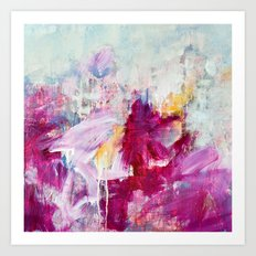 abstract landscape - variation Art Print