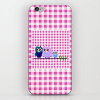 Pretty Owls  iPhone & iPod Skin