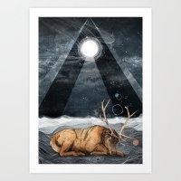 The Unsleeping Dream Art Print