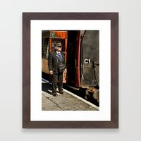 The Ticket Collector Framed Art Print