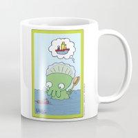 Bathtime for Baby Thulhu! Mug