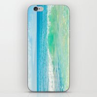 Ocean Blue Beach Dreams iPhone & iPod Skin