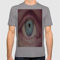 World Eye View Mens Fitted Tee Athletic Grey SMALL