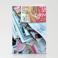 Magazines Stationery Cards