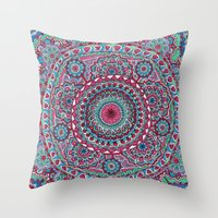 Mesmerizing Mandala Throw Pillow