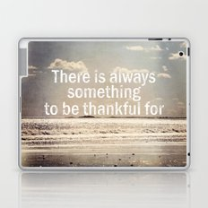 Thankful  Laptop & iPad Skin
