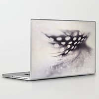 feather Laptop & iPad Skins featuring feather by Ingrid Beddoes