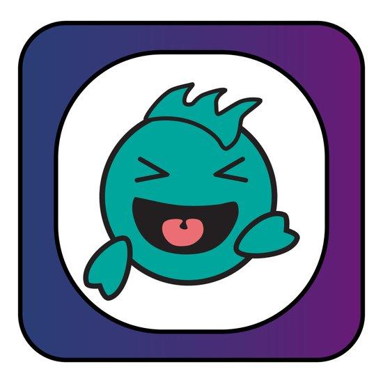 Laughing Fish Art Print