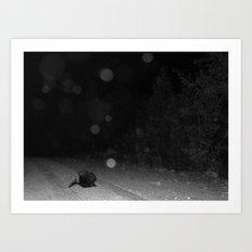 Moonwalker Art Print