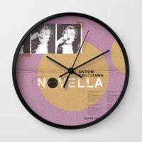 Novella Series Wall Clock