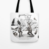 The Great Fight Tote Bag