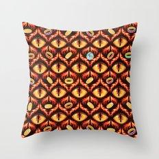 Smaug's Lair Pattern Throw Pillow