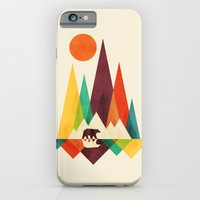 Bear In Whimsical Wild iPhone 6 Slim Case